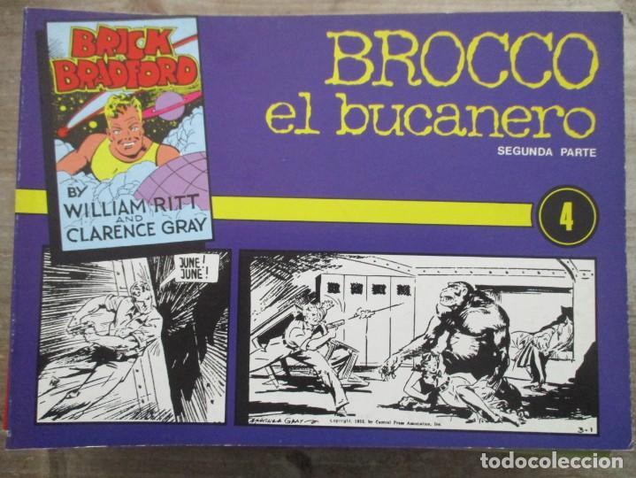 BRICK BRADFORD - N º 4 - WILLIAN RITT & CLARENCE GRAY -EDICIONE ESTEVE (Tebeos y Comics - Tebeos Reediciones)