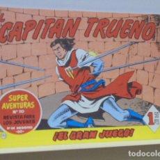 Tebeos: COLECCION SUPER AVENTURAS Nº 110 EL CAPITAN TRUENO Nº 120 - EDICIONES B - REEDICION. Lote 171049962