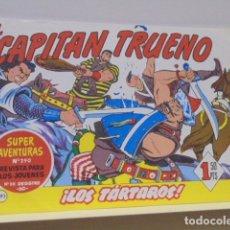 Tebeos: COLECCION SUPER AVENTURAS Nº 290 EL CAPITAN TRUENO Nº 193 - EDICIONES B - REEDICION. Lote 171050030