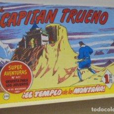 Tebeos: COLECCION SUPER AVENTURAS Nº 601 EL CAPITAN TRUENO Nº 296 - EDICIONES B - REEDICION. Lote 171051272