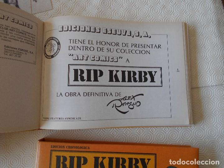 Tebeos: RIP KIRBY. EDICION CRONOLOGICA. ALEX RAYMOND. 2 TOMOS CON EL MATERIA DE TIRAS DIARIAS DESDE EL 4 DE - Foto 3 - 171227829