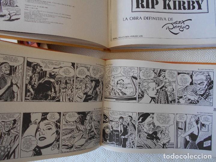Tebeos: RIP KIRBY. EDICION CRONOLOGICA. ALEX RAYMOND. 2 TOMOS CON EL MATERIA DE TIRAS DIARIAS DESDE EL 4 DE - Foto 4 - 171227829
