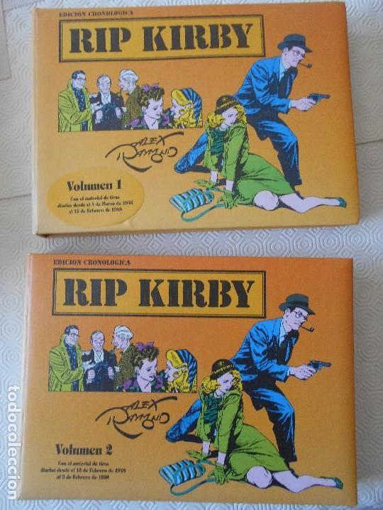 RIP KIRBY. EDICION CRONOLOGICA. ALEX RAYMOND. 2 TOMOS CON EL MATERIA DE TIRAS DIARIAS DESDE EL 4 DE (Tebeos y Comics - Tebeos Reediciones)
