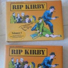 Tebeos: RIP KIRBY. EDICION CRONOLOGICA. ALEX RAYMOND. 2 TOMOS CON EL MATERIA DE TIRAS DIARIAS DESDE EL 4 DE . Lote 171227829