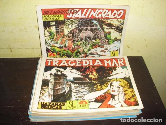 HAZAÑAS BÉLICAS EDICIONES G4- 17 EJEMPLARES - (Tebeos y Comics - Tebeos Reediciones)