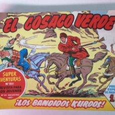 Tebeos: EL COSACO VERDE REEDICION 78 EJEMPLARES. Lote 171400560