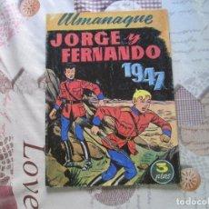 Tebeos: JUAN CENTELLA ALMANAQUE 1947. Lote 173078542
