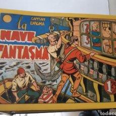 Tebeos: TEBEOS-CÓMICS CANDY - CAPITÁN ENIGMA - LA NAVE FANTASMA - AA99. Lote 174335363