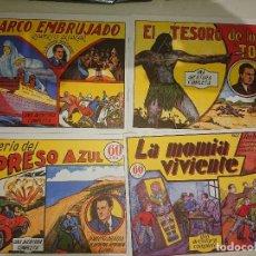Tebeos: LOTE DE 4 COMICS ROBERTO ALCAZAR ( REEDICION ) . LEER DESCIPCION. Lote 175077350