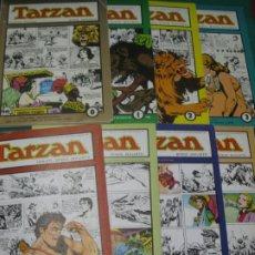 Tebeos: TARZAN. HAROLD FOSTER. 0-7 COMPLETA. REEDICION DE LAS PAGINAS DOMINICALES 1936-1943.. Lote 175403205