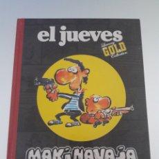Tebeos: EL JUEVES MAKINAVAJA LUXURY GOLD COLLECTION. Lote 175586622