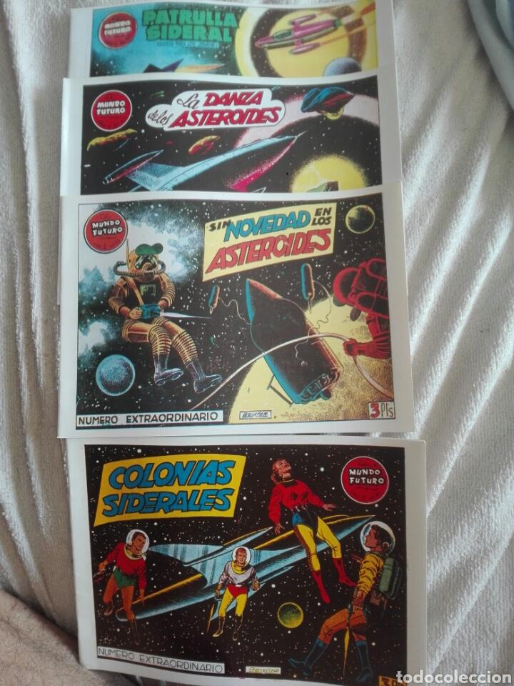 EL MUNDO FUTURO DOS NÚMEROS EXTRAORDINARIOS 41-45 Y 49 61 (Tebeos y Comics - Tebeos Reediciones)