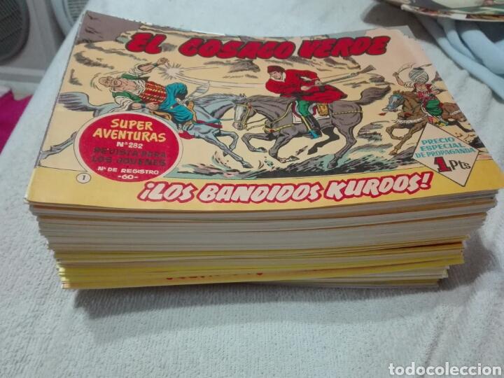 EL COSACO VERDE COLECCIÓN 144 NÚMEROS FALTAN DEL 2 AL 16 PARA COMPLETO (Tebeos y Comics - Tebeos Reediciones)
