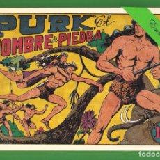 Tebeos: PURK ''EL HOMBRE DE PIEDRA'' - TOMO 1 - (CONTIENE LOS NÚMEROS DEL 1 AL 8) - REEDICIÓN.. Lote 177140818