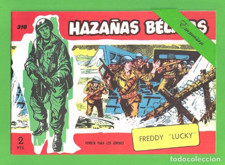 HAZAÑAS BÉLICAS - Nº 318 - FREDDY ''LUCKY'' - REEDICIÓN. (Tebeos y Comics - Tebeos Reediciones)