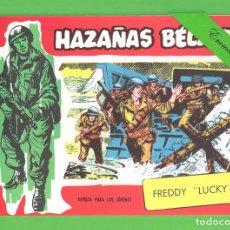 Tebeos: HAZAÑAS BÉLICAS - Nº 318 - FREDDY ''LUCKY'' - REEDICIÓN.. Lote 254132725
