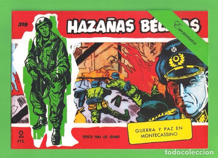 HAZAÑAS BÉLICAS - Nº 319 - GUERRA Y PAZ EN MONTECASSINO - REEDICIÓN. (Tebeos y Comics - Tebeos Reediciones)
