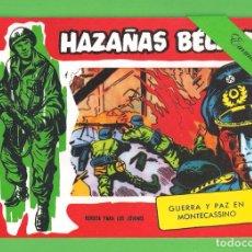 Tebeos: HAZAÑAS BÉLICAS - Nº 319 - GUERRA Y PAZ EN MONTECASSINO - REEDICIÓN.. Lote 254132870