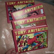 Tebeos: TONI Y ANITA LOTE DE TOMOS. Lote 179044623