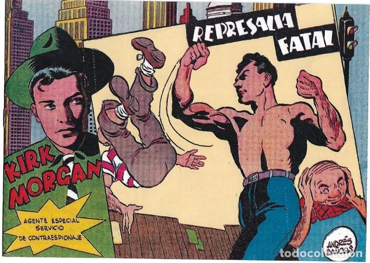 KIRK MORGAN Nº 12, REEDICIÓN MPECABLE - LEER (Tebeos y Comics - Tebeos Reediciones)