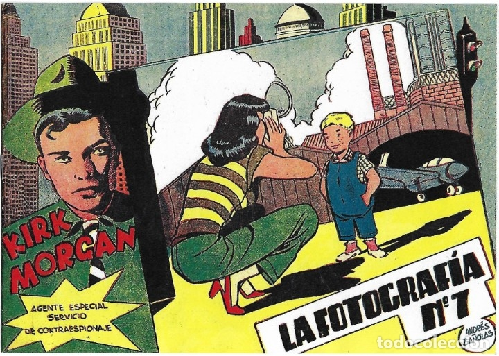 KIRK MORGAN Nº 13 Y ÚLTIMO , REEDICIÓN MPECABLE - IMPORTANTE LEER DESCRIPCION (Tebeos y Comics - Tebeos Reediciones)