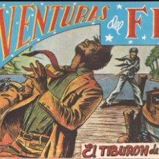 Tebeos: AVENTURAS DEL FBI Nº 37: EL TIBURON DE ACERO. Lote 180452642