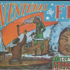 Tebeos: AVENTURAS DEL FBI Nº 52: LA ISLA DE LOS LEPROSOS. Lote 181356510