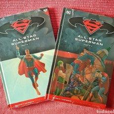 Tebeos: COLECCIÓN COMPLETA COMICS DC. ALL-STAR SUPERMAN. PARTES 1 Y 2. ED. SALVAT. AÑO 2017.. Lote 181481712