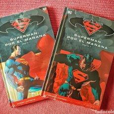 Tebeos: COLECCIÓN COMPLETA COMICS DC. SUPERMAN: POR EL MAÑANA. PARTES 1 Y 2. ED. SALVAT. AÑO 2017.. Lote 181484886