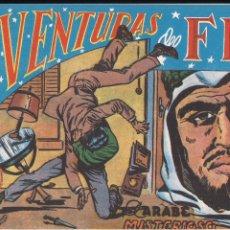 Tebeos: AVENTURAS DEL FBI Nº 64: EL ARABE MISTERIOSO. Lote 182006853