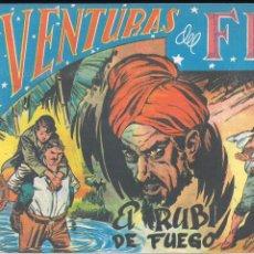 Tebeos: AVENTURAS DEL FBI Nº 70: EL RUBI DE FUEGO. Lote 182586043