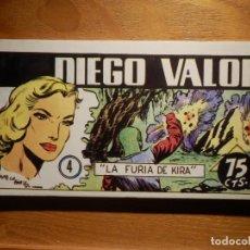Tebeos: COMIC - DIEGO VALOR - Nº 4 - DEL 19 AL 24 - IBERCOMIC 1986. Lote 182692108