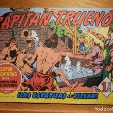 Tebeos: EL CAPITAN TRUENO -SUPER AVENTURAS Nº 56 - Nº 93 ¡ LAS ESTATUAS DE TITLAN ! - REEDICIÓN EDICIONES B. Lote 182692972