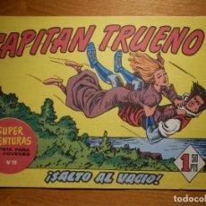 Tebeos: EL CAPITAN TRUENO -SUPER AVENTURAS Nº 19 - Nº 68 ¡ SALTO AL VACIO ! - REEDICIÓN EDICIONES B. Lote 182693073