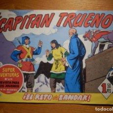 Tebeos: EL CAPITAN TRUENO -SUPER AVENTURAS Nº 619 - Nº 302 ¡ EL RETO DE ZANDAK ! - REEDICIÓN EDICIONES B. Lote 182693282