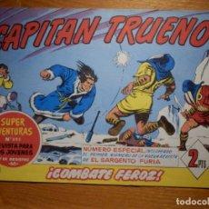 Tebeos: EL CAPITAN TRUENO -SUPER AVENTURAS Nº 595 - Nº 294 ¡ COMBATE FEROZ ! - REEDICIÓN EDICIONES B. Lote 182693352
