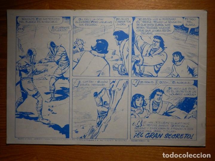 Tebeos: El Capitan Trueno -Super Aventuras Nº 595 - Nº 294 ¡ Combate Feroz ! - Reedición Ediciones B - Foto 2 - 182693352