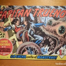 Tebeos: EL CAPITAN TRUENO -SUPER AVENTURAS Nº 41 - Nº 83 ¡ LA LUCHA CONTRA EL MO ! - REEDICIÓN EDICIONES B. Lote 182693445