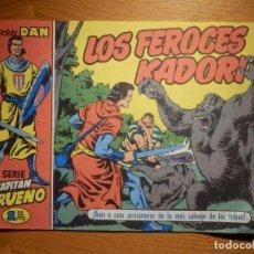 Tebeos: EL CAPITAN TRUENO -COLECCIÓN DAN Nº 5 - LOS FEROCES KADORI - REEDICIÓN EDICIONES B 1986. Lote 182693667