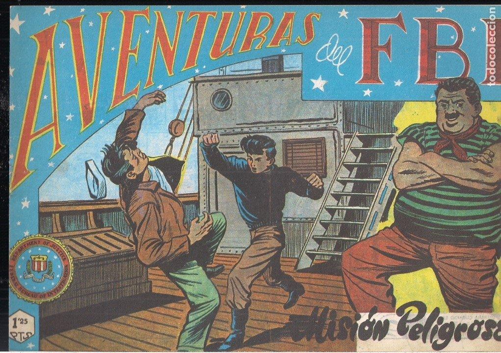 AVENTURAS DEL FBI Nº 72: MISIÓN PELIGROSA (Tebeos y Comics - Tebeos Reediciones)