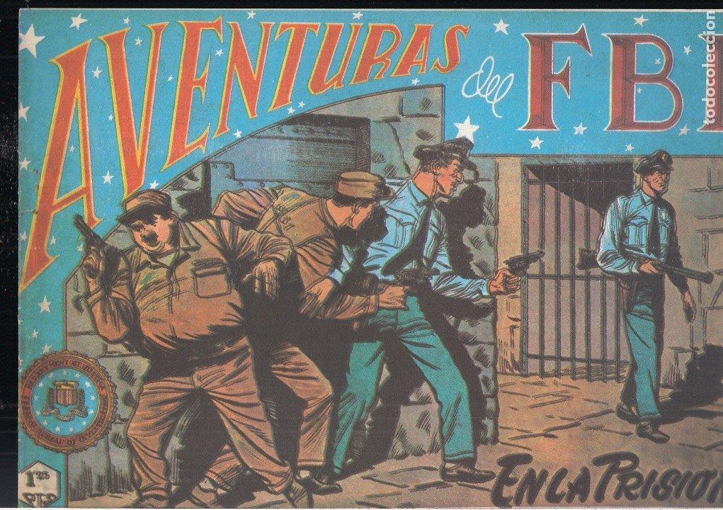AVENTURAS DEL FBI Nº 73: EN LA PRISIÓN (Tebeos y Comics - Tebeos Reediciones)