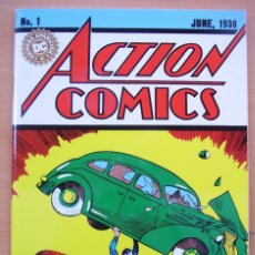 Tebeos: ACTION COMICS NUMERO 1 COMPLETO EN ESPANOL SUPERMAN JERRY SIEGEL JOE SHUSTER DC. Lote 182984360