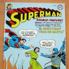 Tebeos: SUPERMAN BATMAN JUNTOS PRIMERA APARICION COMIC EN ESPANOL DC JERRY SIEGEL BOB KANE. Lote 182984536