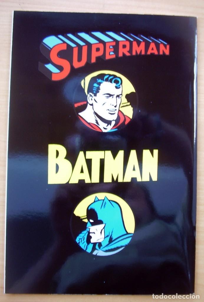 Tebeos: Superman Batman Juntos Primera Aparicion Comic en Espanol DC Jerry Siegel Bob Kane - Foto 2 - 182984536