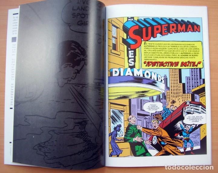 Tebeos: Superman Batman Juntos Primera Aparicion Comic en Espanol DC Jerry Siegel Bob Kane - Foto 5 - 182984536