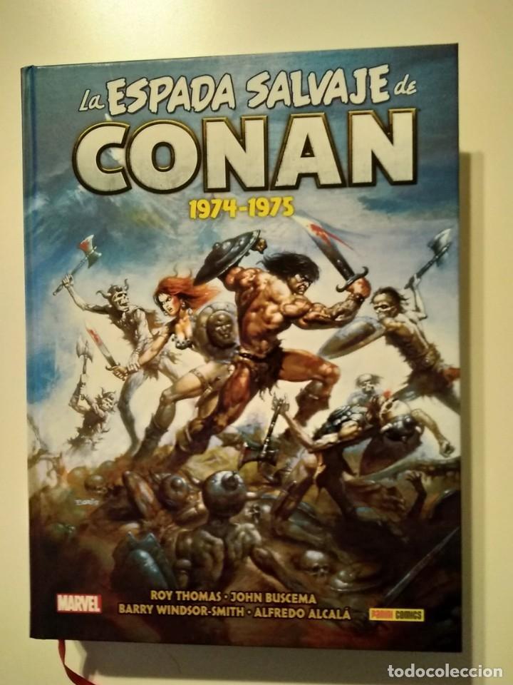LA ESPADA SALVAJE DE CONAN OMNIBUS 1 (Tebeos y Comics - Tebeos Reediciones)