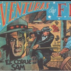 Tebeos: AVENTURAS DEL FBI Nº 77: EL CORAJE DE SAM. Lote 183480963