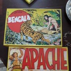 Tebeos: BENGALA Y APACHE REEDICION. Lote 183749811