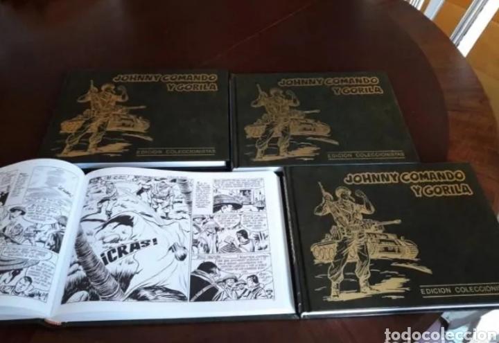 JHONNY COMANDO Y GORILA COLECCIÓN COMPLETA (Tebeos y Comics - Tebeos Reediciones)