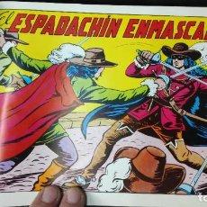 Tebeos: EL ESPADACHIN ENMASCARADO COLECCION COMPLETA ENCUADERNADA EN 6 TOMOS 84 TEBEOS EDICION FACSIMIL. Lote 184725072